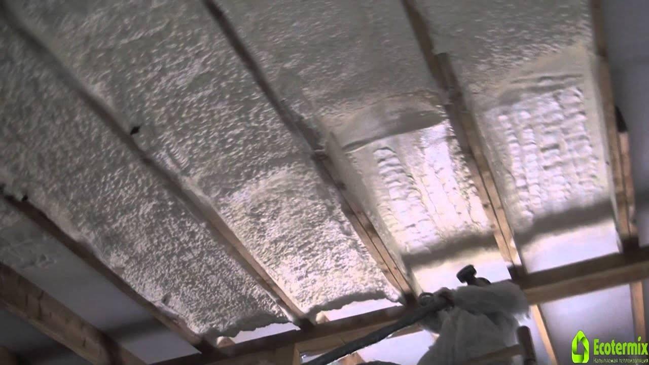 Утепление крыши пеной - кровля и крыша