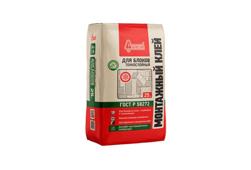 Клей для блоков: пазогребневых и полистиролбетонных, монтажный состав для ячеистых плит из бетона, пена и гель, расход на 1 кв. м