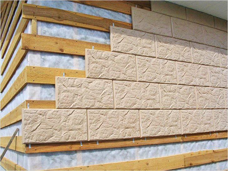 Фасадная плитка своими руками: изготовление формы