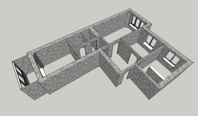 Как определить несущие стены в доме: монолитные, панельные и кирпичные дома