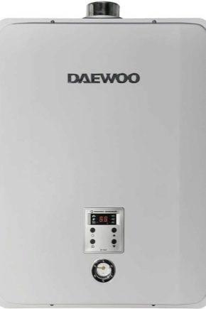Инструкция по эксплуатации газовых котлов Daewoo + технические характеристики и инструкция по эксплуатации