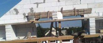 Фронтон двухскатной крыши: расчет и устройство