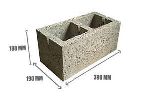 Калькулятор расчета количества керамзитобетонных блоков