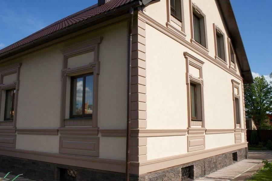 Декоративная штукатурка фасада: виды и правила нанесения