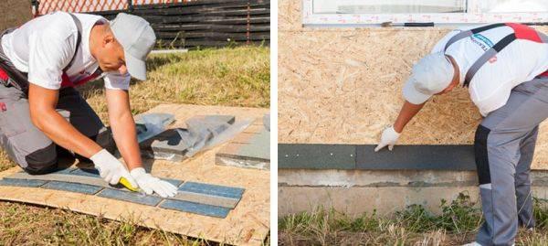 Каталог фасадной плитки технониколь hauberk