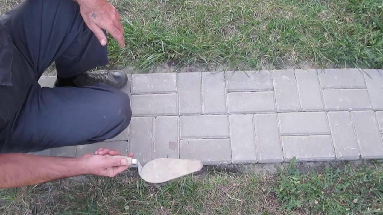 Отмостка из тротуарной плитки вокруг дома - порядок работ по обустройству
