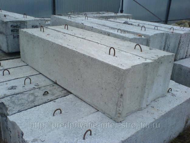 Размеры, маркировка и изготовление фундаментных блоков