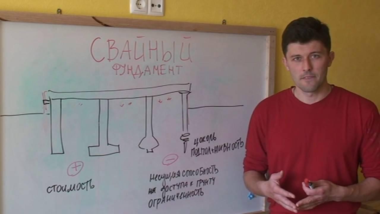 Как определить расстояние между сваями фундамента