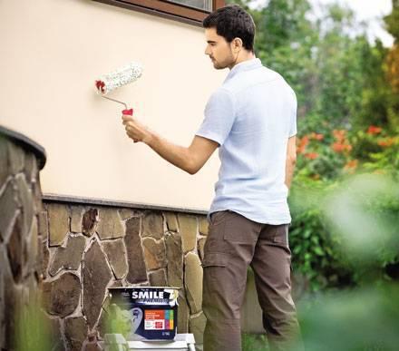 Как выбрать фасадную краску для наружных и внутренних работ (в том числе по штукатурке)