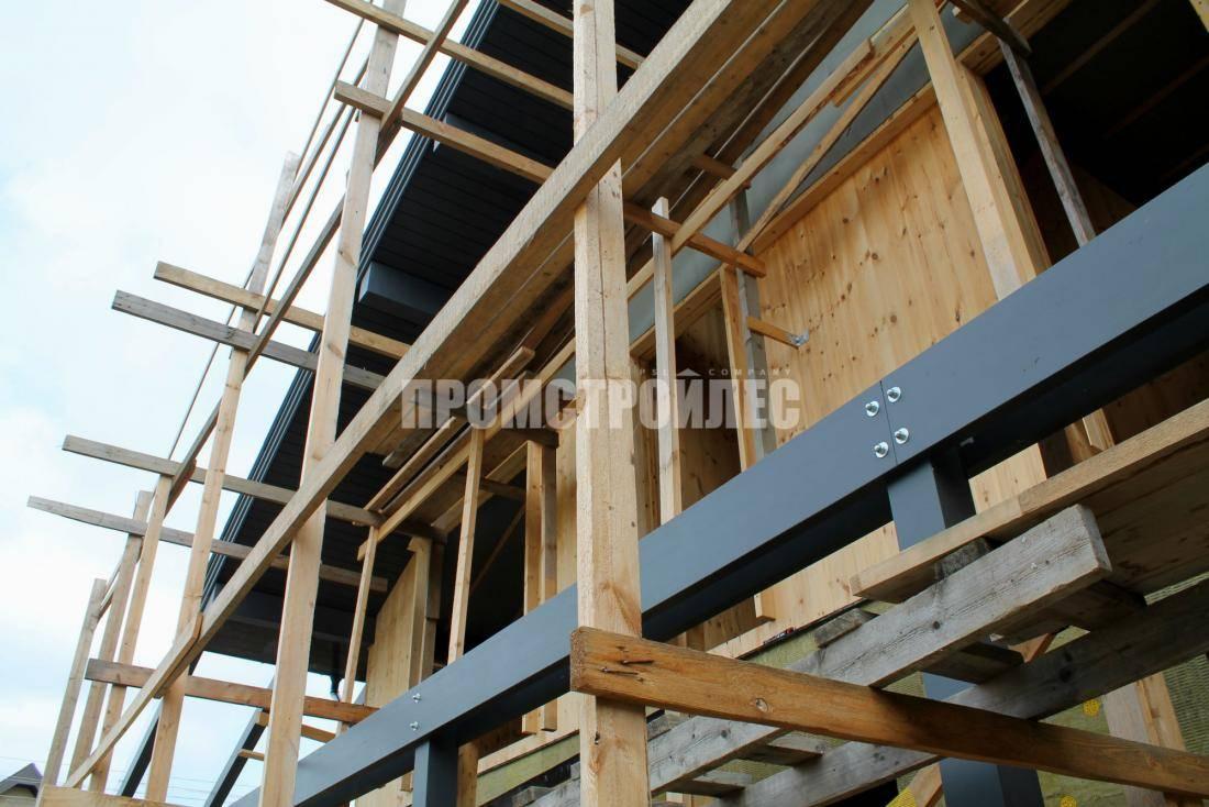 Деревянная каркасно-панельная технология малоэтажного строения