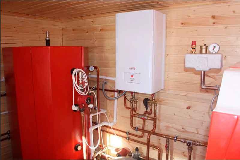Установка двухконтурного газового котла в частном доме | всё об отоплении