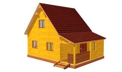 Сколько нужно бруса на дом. расчет количества, веса и стоимости.