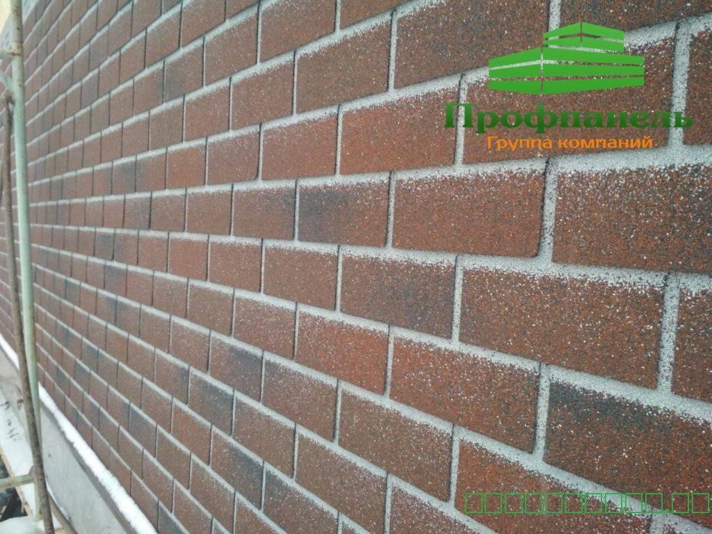 Фасадная плитка – особенности и монтаж