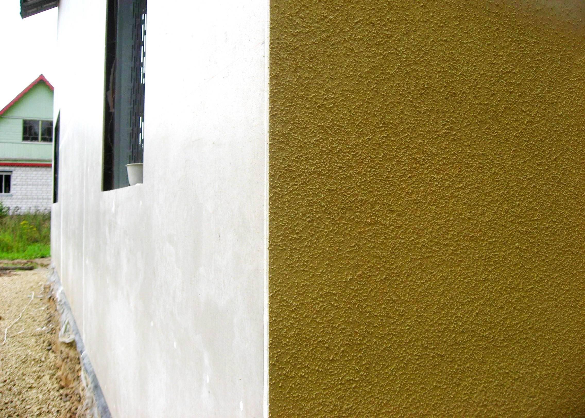Виды фасадных штукатурок: обзор и свойства материалов
