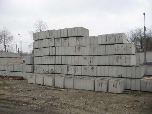 Сколько стоят блоки из бетона различных видов
