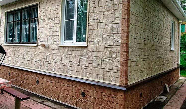 Сайдинг под кирпич: цены на металлический фасадный сайдинг под кирпич в москве