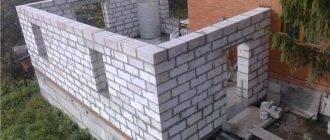 Особенности строительства пристройки из газоблока
