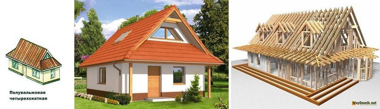 Стропильная система полувальмовой крыши: преимущества и недостатки | папа мастер!