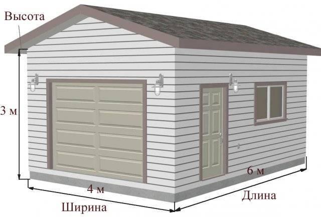 Как можно своими руками построить гараж из пеноблоков