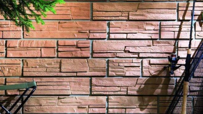 Монтаж фасадных панелей fineber серии камень дикий