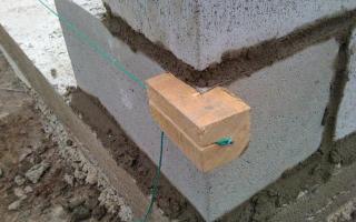 Строительство бани из шлакоблоков |