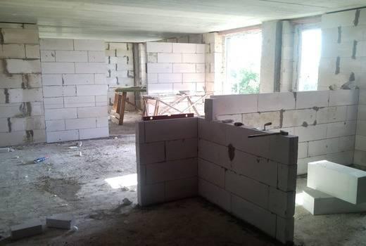 Виды блоков для перегородок в квартире подробное описание их достоинства и недостатки
