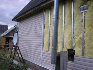 Выбор материала для утепления стен частного дома снаружи и особенности теплоизоляции