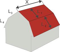 Расчет вальмовой крыши: руководство, формулы, онлайн-калькулятор
