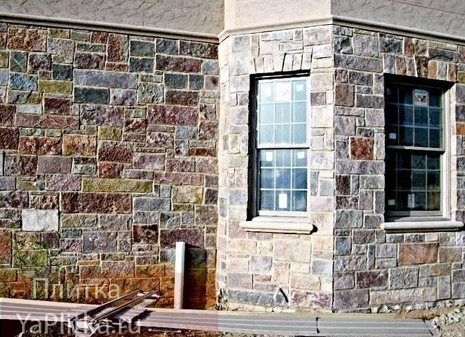 Отделка фасада дома декоративной плиткой: виды изделий и способы монтажа