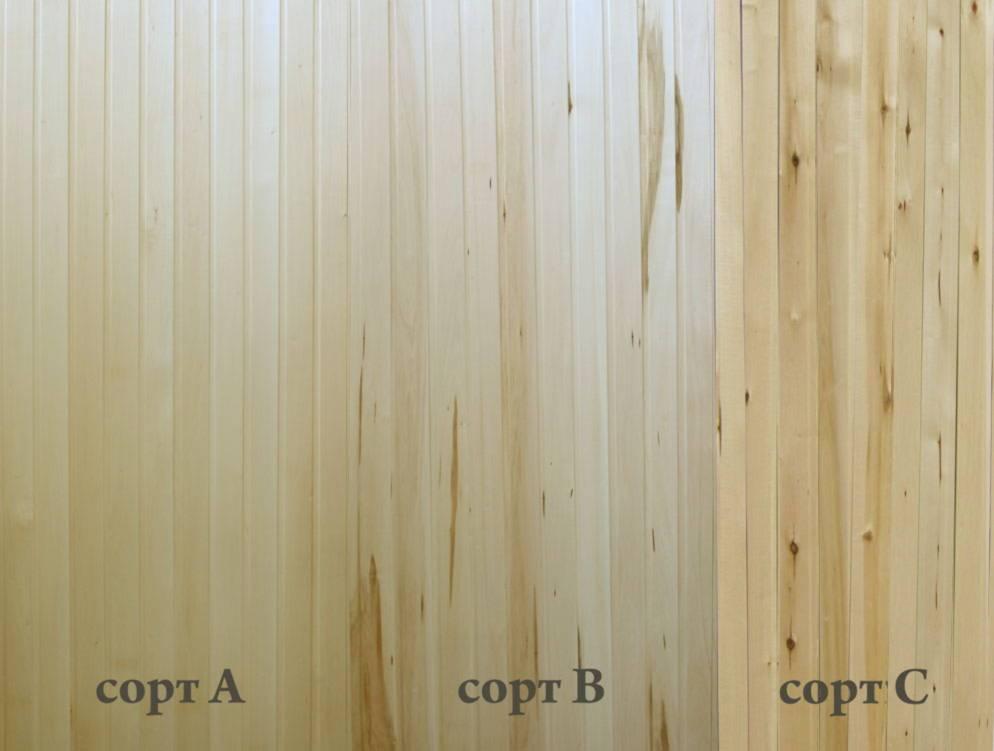 Вагонка «штиль» — размеры, сорта и применение