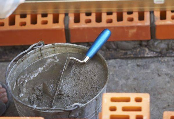 Раствор для кладки облицовочного кирпича: технологические особенности цемента