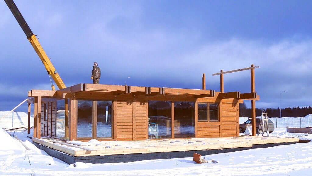 Каркасно-щитовая технология строительства дома – что надо знать