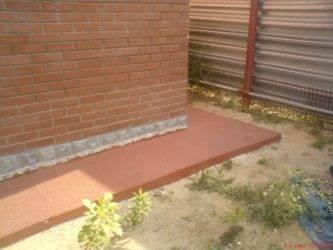 Полезные советы и рекомендации, чем покрасить отмостку из бетона вокруг дома