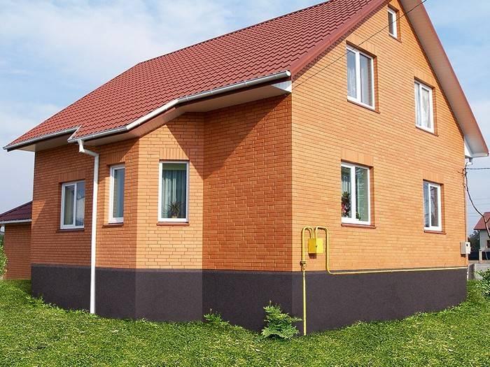 Красивые дома из кирпича, кирпичные фасады, стильные дизайны, проекты и фото