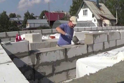Технология кладки стен из газосиликатных блоков - клуб мастеров