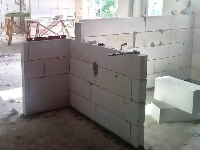 Из чего строить межкомнатные перегородки?