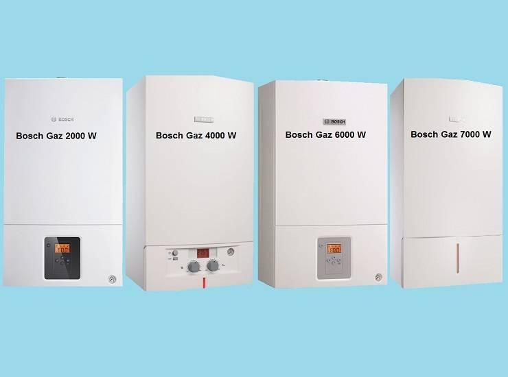 Настенные газовые котлы бош: обзор, отзывы покупателей