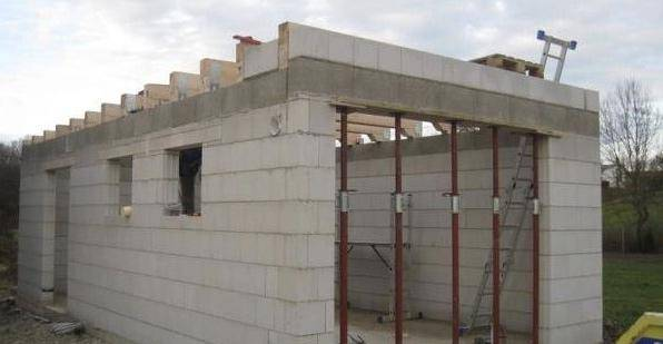 Особенности строительства гаража из газоблока