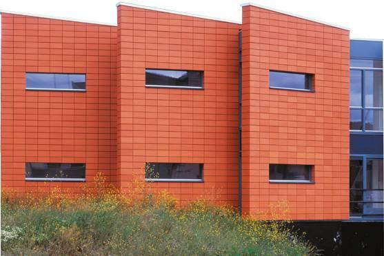 Технология отделки фасада клинкерной плиткой