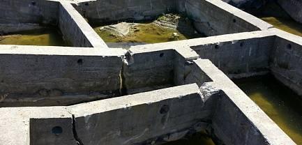 Свайный фундамент для домов из бруса