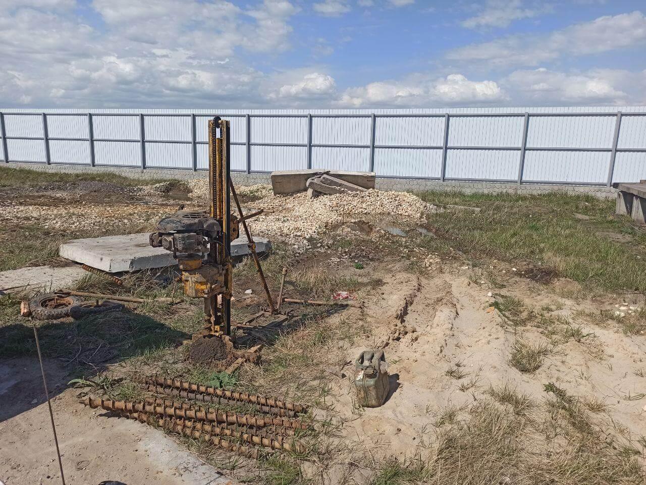Геологическое исследование грунта под фундамент