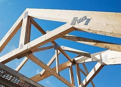 Устройство односкатной крыши: основные элементы конструкции