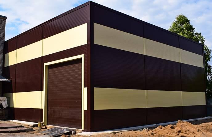 Строительство быстровозводимых зданий из сэндвич-панелей