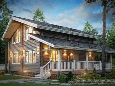Дачные дома из бруса (62 фото): как построить садовый брусовой коттедж эконом класса, небольшие деревянные постройки для дачи