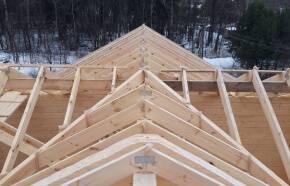 Дачные дома из клееного бруса: требования к материалу, технология строительства, плюсы, минусы, цена