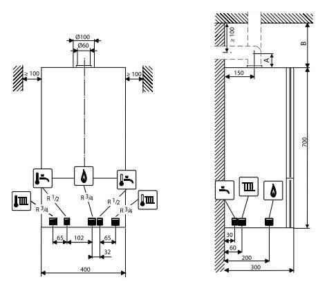 Настенные газовые котлы buderus – модельный ряд и характеристики