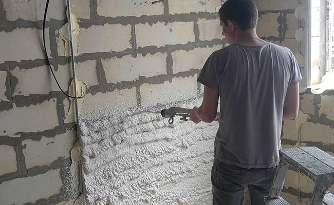 Фасадная штукатурка для наружных работ по газобетону: как выбрать состав и наносить