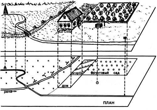Получение топографического плана земельного участка по кадастровому номеру