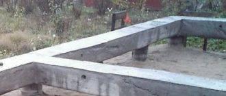 Свайно-ростверковый фундамент для дома из газобетона: этапы возведения