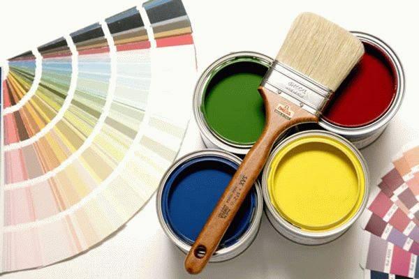 Водно-дисперсионная краска — свойства и особенности